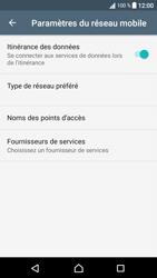 Sony Xperia XA1 - Aller plus loin - Désactiver les données à l'étranger - Étape 6