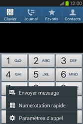 Samsung S6810P Galaxy Fame - Messagerie vocale - Configuration manuelle - Étape 5