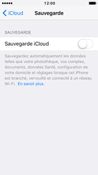 Apple iPhone 5 iOS 10 - Device maintenance - Back up - Étape 11