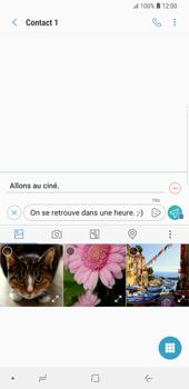 Samsung Galaxy S9 Plus - MMS - envoi d'images - Étape 13