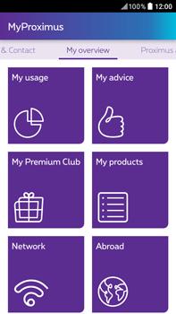 HTC Desire 825 - Applications - MyProximus - Step 17