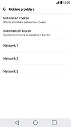 LG K10 2017 - Netwerk - Gebruik in het buitenland - Stap 8