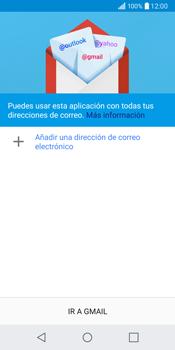 LG Q6 - E-mail - Configurar Gmail - Paso 6