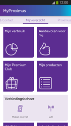 Samsung I9300 Galaxy S III - Applicaties - MyProximus - Stap 14