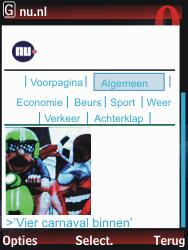 Nokia 2730 classic - Internet - hoe te internetten - Stap 15