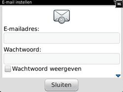 BlackBerry 9320 Curve - E-mail - Handmatig instellen - Stap 8