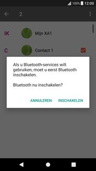 Sony Xperia XA1 Plus (G3421) - Contacten en data - Contacten overzetten via Bluetooth - Stap 10