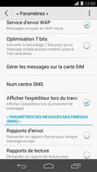 Huawei Ascend P7 - SMS - configuration manuelle - Étape 8
