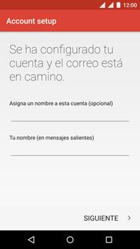 Motorola Moto X Play - E-mail - Configurar correo electrónico - Paso 26