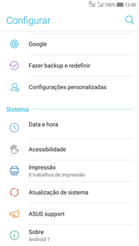 Asus Zenfone Selfie - Funções básicas - Como atualizar o software do seu aparelho - Etapa 4