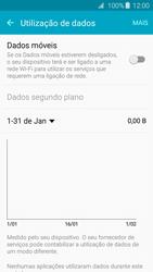Samsung Galaxy A3 A310F 2016 - Internet no telemóvel - Como ativar os dados móveis -  5