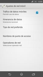 Sony Xperia E4g - Red - Seleccionar una red - Paso 6