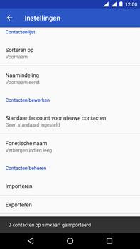 Nokia 6.1 Dual-SIM (TA-1043) - Contacten en data - Contacten kopiëren van SIM naar toestel - Stap 9