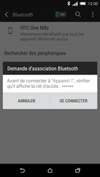 HTC One M8s - Bluetooth - connexion Bluetooth - Étape 9