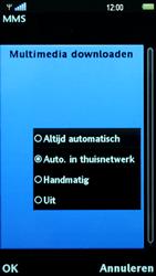 Sony Ericsson U5i Vivaz - MMS - probleem met ontvangen - Stap 9