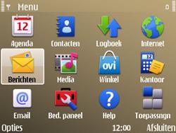 Nokia E72 - MMS - handmatig instellen - Stap 20