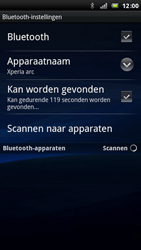 Sony Ericsson Xperia Arc - Bluetooth - koppelen met ander apparaat - Stap 8