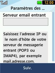 LG T580 - E-mails - Ajouter ou modifier un compte e-mail - Étape 9