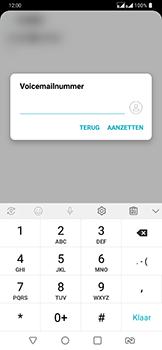 LG g7-fit-dual-sim-lm-q850emw - Voicemail - Handmatig instellen - Stap 9