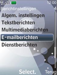 Nokia 7210 supernova - E-mail - Handmatig instellen - Stap 5