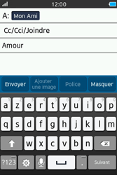 Samsung Wave M - E-mails - Envoyer un e-mail - Étape 9