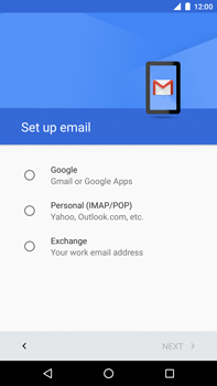 Huawei Google Nexus 6P - Email - Manual configuration - Step 7