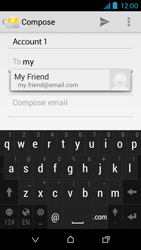 HTC Desire 310 - E-mail - Sending emails - Step 7