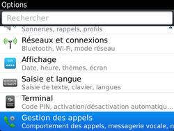 BlackBerry 9900 Bold Touch - Messagerie vocale - Configuration manuelle - Étape 4