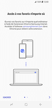 Samsung Galaxy S8 - Internet - Navigation sur internet - Étape 4