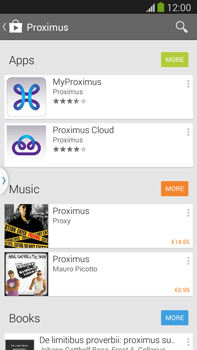 Samsung Galaxy S5 G900F - Applications - MyProximus - Step 6
