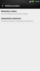 HTC One - Netwerk - Handmatig een netwerk selecteren - Stap 6