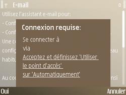 Nokia E72 - E-mail - Configuration manuelle - Étape 6
