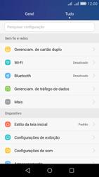 Huawei Y6 - Rede móvel - Como ativar e desativar uma rede de dados - Etapa 3