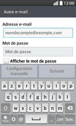 LG F70 - E-mails - Ajouter ou modifier un compte e-mail - Étape 6