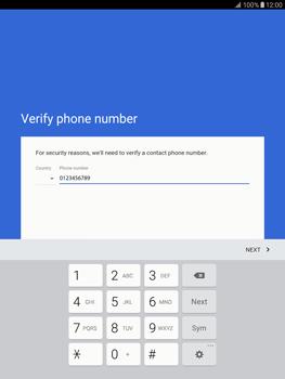Samsung T815 Galaxy Tab S2 9.7 - Applications - Create an account - Step 8