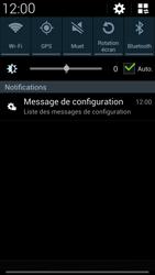 Samsung I9505 Galaxy S IV LTE - MMS - Configuration automatique - Étape 4