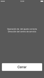 Apple iPhone 6s iOS 10 - Mensajería - Configurar el equipo para mensajes de texto - Paso 6