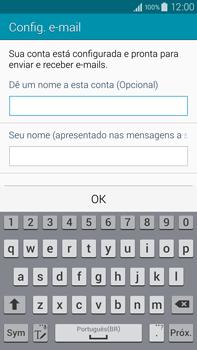 Samsung N910F Galaxy Note 4 - Email - Como configurar seu celular para receber e enviar e-mails - Etapa 17