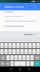 Huawei P8 Lite - E-mail - Configurar Gmail - Paso 10