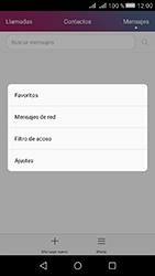 Huawei Y5 II - Mensajería - Configurar el equipo para mensajes de texto - Paso 4