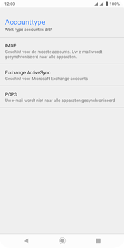 Sony xperia-xz3-dual-sim-model-h9436 - E-mail - Account instellen (POP3 zonder SMTP-verificatie) - Stap 10