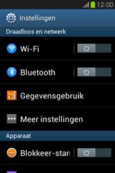 Samsung S6810P Galaxy Fame - Buitenland - Bellen, sms en internet - Stap 4