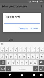 Sony Xperia XZ1 - Mensajería - Configurar el equipo para mensajes multimedia - Paso 13