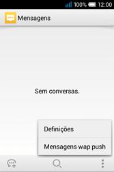 Alcatel POP C1 - SMS - Como configurar o centro de mensagens -  5
