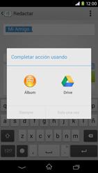 Sony Xperia M2 - Mensajería - Escribir y enviar un mensaje multimedia - Paso 16