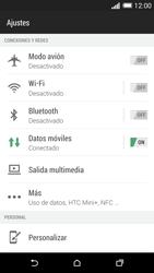 HTC One M8 - Funciones básicas - Activar o desactivar el modo avión - Paso 4