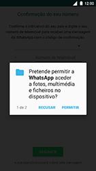 Nokia 3 - Aplicações - Como configurar o WhatsApp -  7