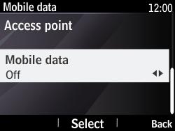 Nokia Asha 210 - Internet - Enable or disable - Step 9