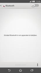 Sony Xperia Z2 4G (D6503) - Bluetooth - Aanzetten - Stap 4