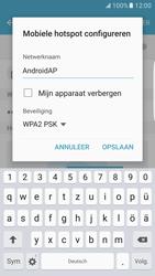 Samsung Galaxy S7 edge - WiFi - Mobiele hotspot instellen - Stap 8